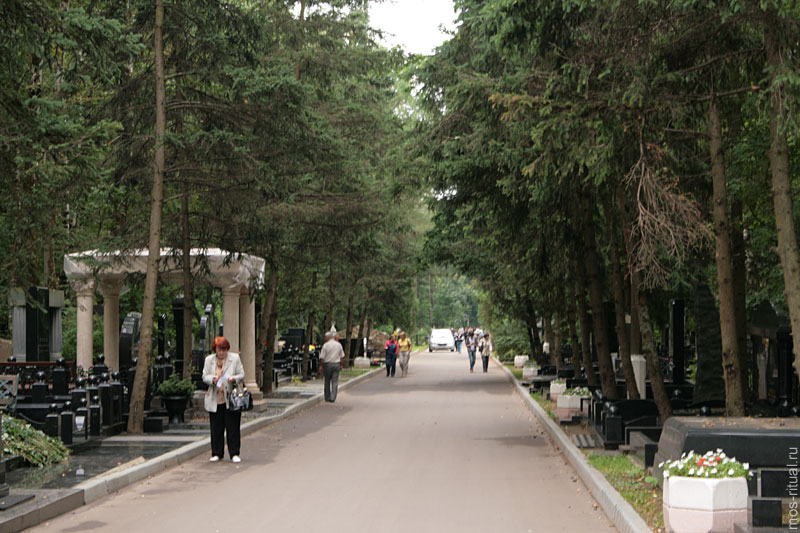 Список захоронений на востряковском кладбище со свечойии памятников из гранита двойник